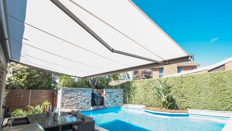 Folding Arm Awnings Melbourne Victoria