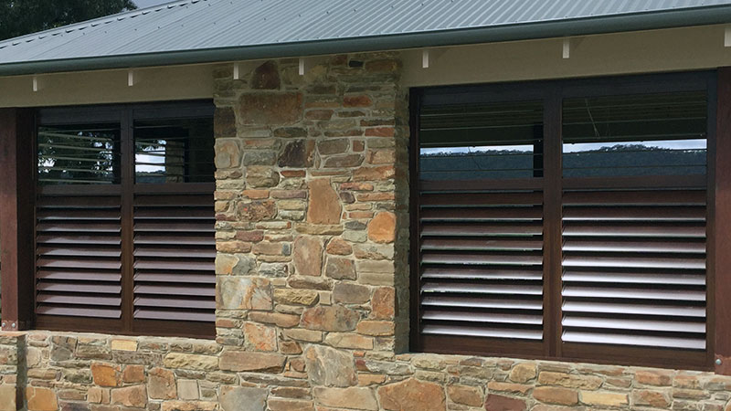Cheap Aluminium Outdoor Shutters
