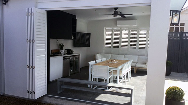 Outdoor Aluminium Shutters Melbourne Outdoor Blinds